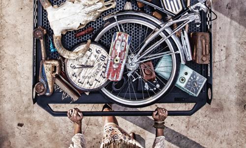 """BEDSLIDE """"Junk Drawer"""" Poster - Yonder"""