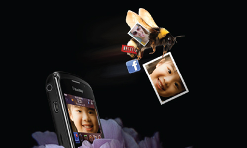 "BlackBerry Hive ""Cell Phone"" Print Ad - Yonder"