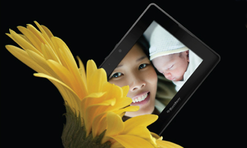 "BlackBerry Hive ""Tablet"" Print Ad - Yonder"