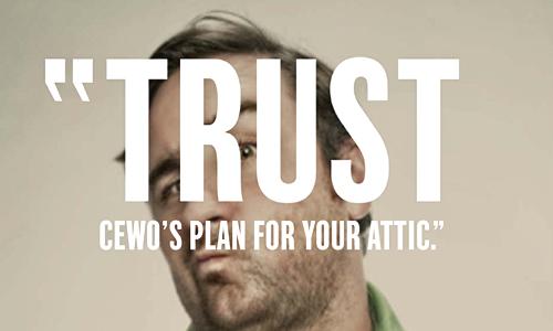 "CEWO ""Trust"" Print Ad - Yonder"